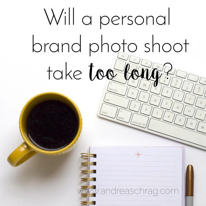 Will a personal brand photo shoot take too long?
