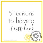 5 reasons to have a first look at your wedding