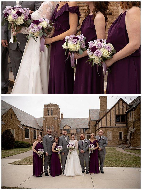 Hutchinson Kansas wedding at First United Methodist Church