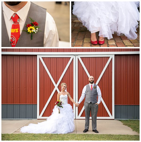 lake Talbot wedding at Kansas State Fairgrounds for Perfect Timeline for Wedding Photos blog post