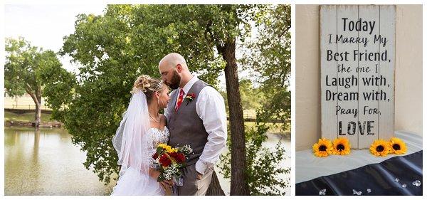 lake Talbot wedding at Kansas State Fairgrounds