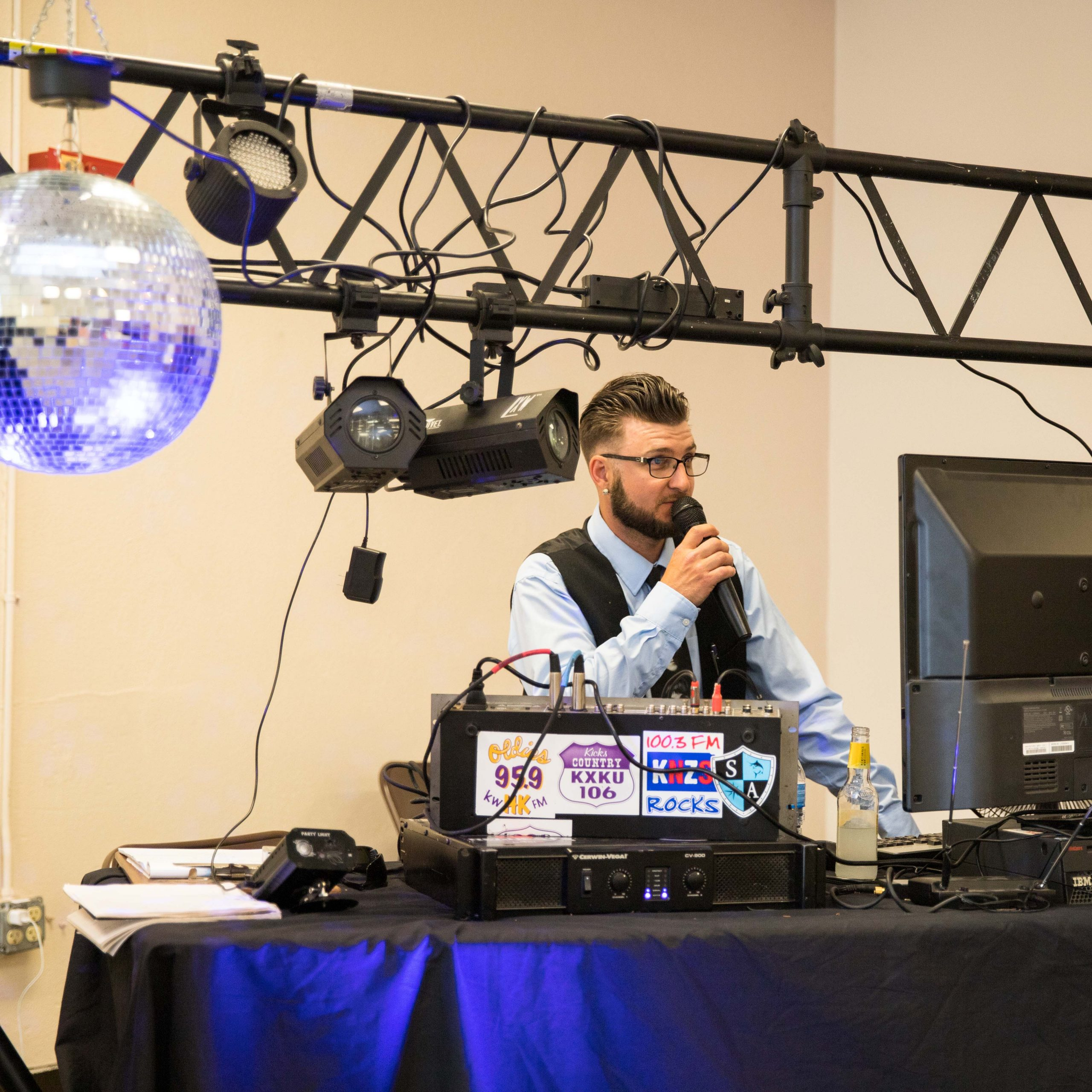 Hutchinson Kansas DJ for weddings and events