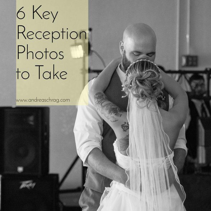 6 Key reception photos to take