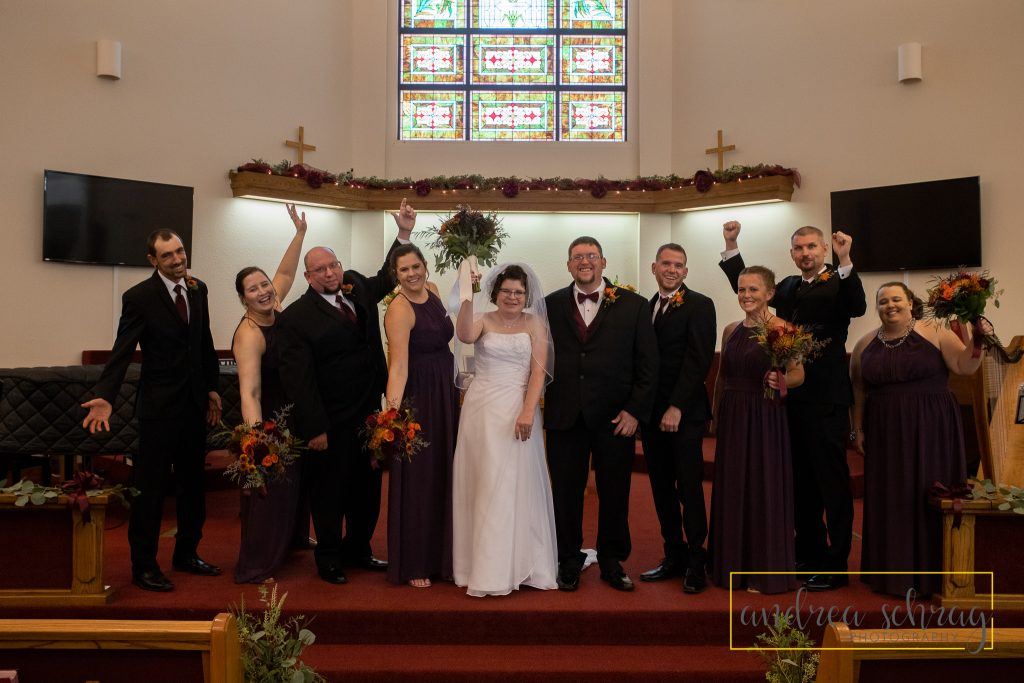Nickerson wedding wedding party