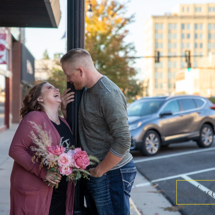 Casey + Abby | Hutchinson engagement session