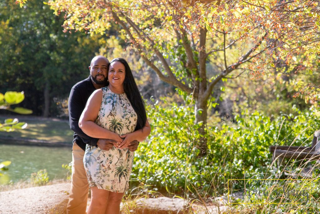 fall engagement session at Dillon Nature Center