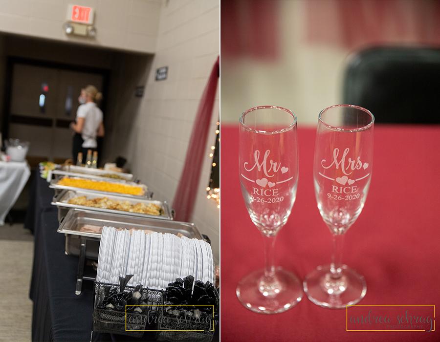 Nickerson wedding reception